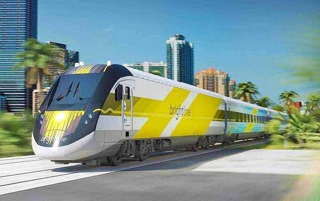 Rendering Brightline Has Debuted Higher Sd Rail Service Between Miami And West Palm Beach